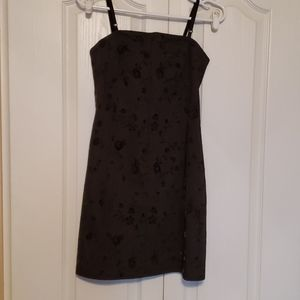 Ultra Flirt dark grey dress